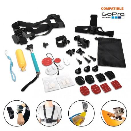 Kit d'accessoires pour GO PRO