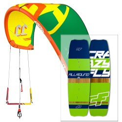 Pack F-ONE Breeze d'occasion et planche Crazyfly Allround 2017