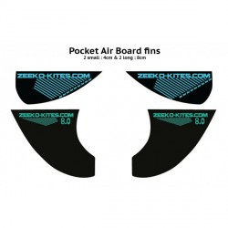 Set de 4 ailerons pour Pocket Air de Zeeko