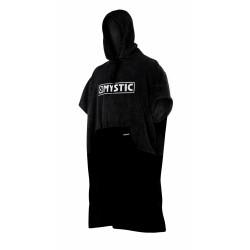 Le poncho Noir de Mystic