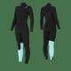 Combinaison MAGMA 5.4.3 Femme de Manera 2019