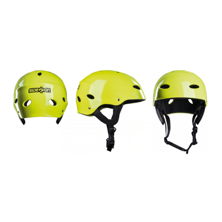 Casque de kitesurf side-on jaune