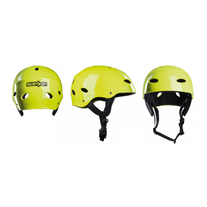 Casque de kitesurf side-on jaune