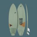 Planche de surf Mitu PRO Bamboo de F-One 2020