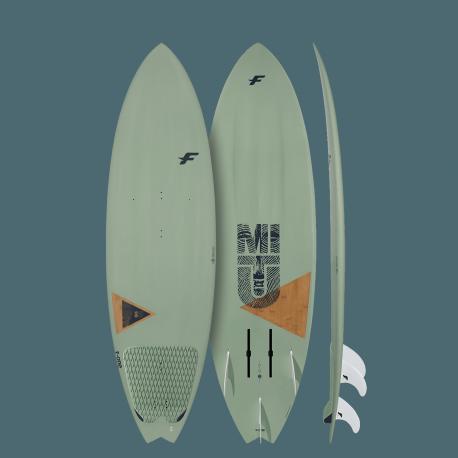 Planche de surf Mitu PRO Bamboo Convertible foilboard de F-One 2020