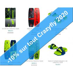 -10% sur toute la Gamme Crazyfly 2020
