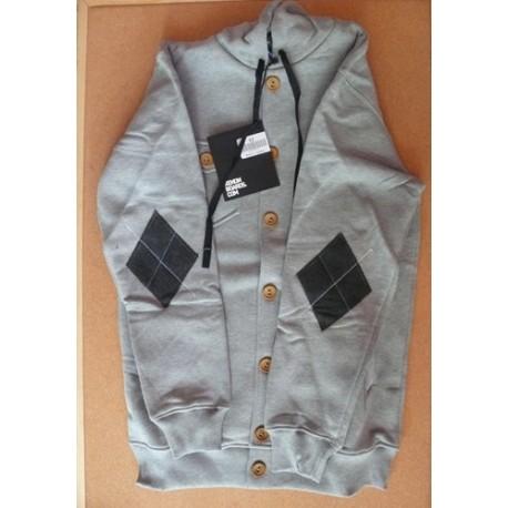 Sweatshirt Xenon à boutons