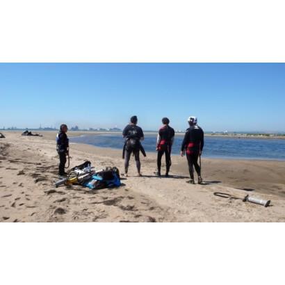 Les initiation au kitesurf pour le CE