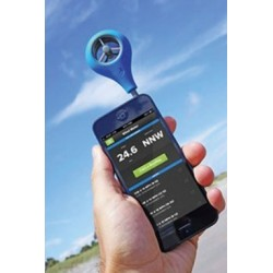 Anemometre compatible smartphone