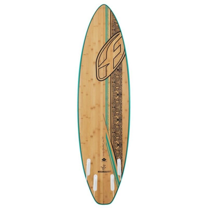 planche de surf bambou signature de f one 2014. Black Bedroom Furniture Sets. Home Design Ideas