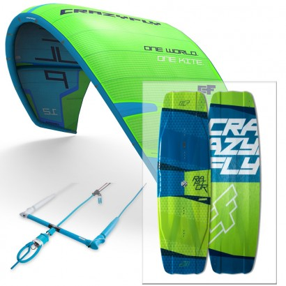 Pack aile et planche Crazyfly 2017